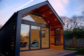 Small Picture Pitched roof garden office entertainment space The Garden Room