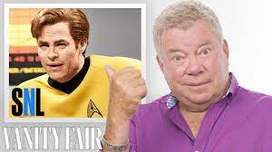 William Shatner Reviews Impressions of Himself