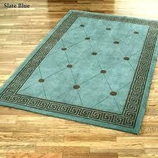 blue rug runner slate medium size of area wool rugs blu