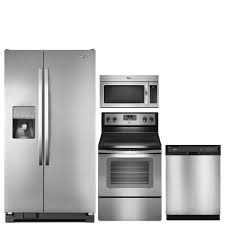 Kitchen Appliances Package Deals Discount Package Whirlpool 4 Piece Kitchen Package 229999