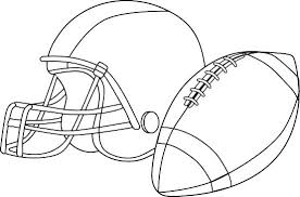 Coloring Pages Football Printable Football Helmets Helmet Coloring Pages To Print At Free
