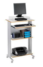 compact computer stand. Unique Computer Stand Up Computer Desk  Mobile Desks Inside Compact E