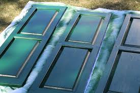 painting plastic shutters