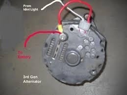 1 wire alternator wiring diagram one wire alternator wiring diagram ford at Gm 1 Wire Alternator Diagram