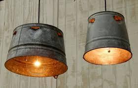 Diy pendant lighting Island Viral Creek Diy Hanging Industrial Pendant Lights