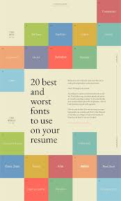 Fonts To Use For Resumes 20 Best And Worst Fonts To Use On Your Resume Learn