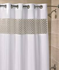 these curtains are available in many diffe designs and colors and therefore hookless shower curtain can