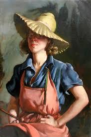 Priscilla Warren Roberts (1916 – 2001)   Portrait art, Female art, Portrait