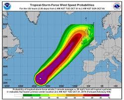 Hurricane Lorenzo National Emergency Co Ordination Group