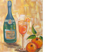 Easy Acrylic Painting Ideas | Wine and Glass Class| The Art Sherpa - YouTube