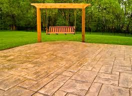 Stamped Concrete Kitchen Floor All Weather Decks 19 Time Winner Of Best Deck Builder In Kansas City