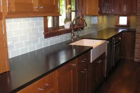 backsplash ideas for black granite countertops. Backsplash Ideas For Black Granite Countertops And Maple Cabinets. White Subway Tile A