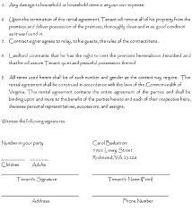 Printable Rental Agreement Template Free Printable Rental Lease Agreement Form Template Renters