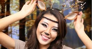 awesome deer makeup designs