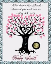 Wedding DIY Fingerprint Tree Template To Download U0026 Print Fingerprint Baby Shower Tree