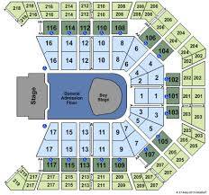 Mgm Grand Garden Arena Seating Chart What Section Is The Best To View A Concert At Mgm Grand