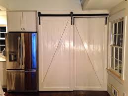 Barn Door In Kitchen Sliding Door Kitchen Cabinets Ets Doors Glass Foxy Kitchen