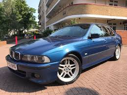 2003 Bmw 540i Sport Auto Facelift Beautiful Condition Topaz Blue ...