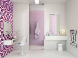 modern funky pink bathroom. Full Size Of Bathroom Accessories Decoration: Bathrooms Wallpaper Nurani Lovely Contemporary For Best Modern Funky Pink O
