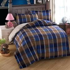 Plaid Twin Quilt Set Plaid Twin Bedspread Patch Plaid Quilt Sham ... & ... Full Size Of Beddingblue Plaid Comforter Wayfair Inside Blue And Brown Plaid  Bedding Popular Blue Brown Plaid Twin Quilts ... Adamdwight.com