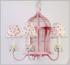 pink chandelier childrens bedroom