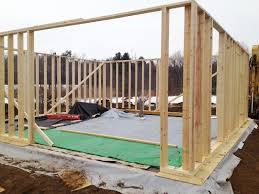 Framing Begins at the Potwine Passivhaus GreenBuildingAdvisorcom