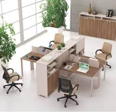 small office cubicle small. Wooden 4 Person Office Cubicle Workstation Desk For Small SZWSB329