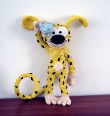 Marsupilami by AmigurumiBB | Crochet toys free, Crochet toys, Crochet  patterns