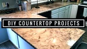 diy countertop resurface refinishing