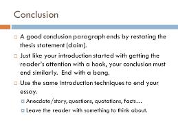 argument essay requirements ppt video online  11 conclusion