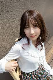 パーマ エレガント セミロング 韓国風ヘアーtanpopo Hair In 韓国 韓国