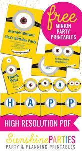 Minion Birthday Party Best 25 Minion Party Ideas On Pinterest Minion Party
