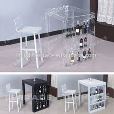 Image Bar Chairs Lucite Mini Bar Table With Wine Rackmodern Acrylic Pub Tables Nicholasrichardsoninfo Lucite Mini Bar Table With Wine Rackmodern Acrylic Pub Tables