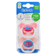 dels about dr brown s prevent baby erfly soother dummy pink 2 pack 0 6 months