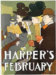 essay  an 1895 cover of harpers a us magazine that prints a number of essays per issue