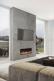 Similar with cabinetry spanning width of windows and fireplace
