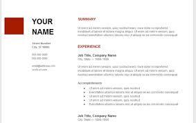 Google Docs Templates Resume Resume Template Google Doc Resume