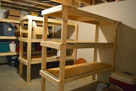 unfinished basement storage ideas. Basement Organization Ideas - An Unfinished Tour And How We Built Storage Shelves T