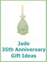 35th anniversary gifts in jade