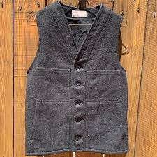 Filson Vest Size Chart Filson Men S Mackinaw 100 Virgin Wool Vest