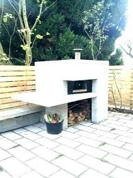 outdoor fireplace pizza oven backyard brick kit photo 7 of simple kits with diy building an outdoor fireplace pizza oven with plans diy brick