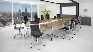 deluxe wooden home office. Good Looking Interior Office Design Joshta Home Designs Deluxe Brown Laminated Wooden Meeting Table Stainless Steel I