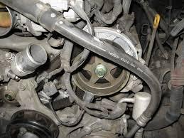 tundra 4 7 2uz timing belt water pump replacement yotatech tundra 4 7 2uz timing belt water pump replacement