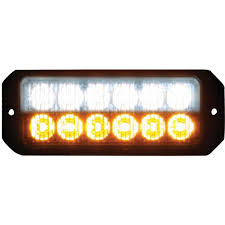Small Led Strobe Lights Buyers Products Company 12 Amber Clear Led 5 In Mini Strobe Light