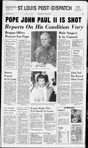 Historic Front Pages from the Post-dispatch   News