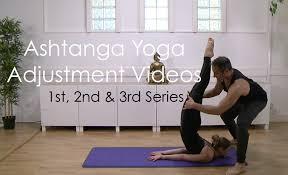 New Ashtanga Adjustment Videos 1st 2nd 3rd Series
