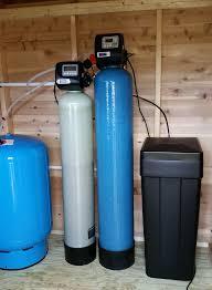 New Water Softener Softener And Iron