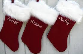 velvet christmas stockings. Fine Stockings Personalized Christmas Stockings  Velvet 19 To E