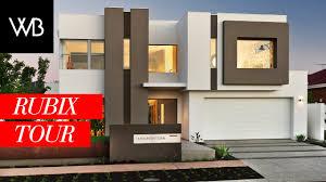 2 storey home - The Rubix; Webb \u0026 Brown-Neaves Home Builders - YouTube