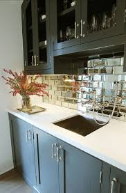 unique design mirror subway tile backsplash give your kitchen an 80s inspired ugrade painted